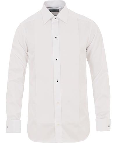 Eton Slim Fit Tuxedo Shirt White i gruppen Tøj / Skjorter / Smokingskjorter hos Care of Carl (14373211r)