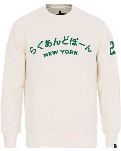 rag & bone R&B NY Japan Sweatshirt Ivory i gruppen Kläder / Tröjor / Sweatshirts hos Care of Carl (14516011r)
