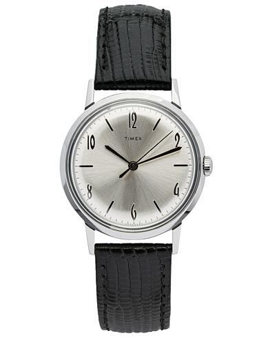 Timex Marlin 1960s Silver Sunray  i gruppen Assesoarer / Klokker hos Care of Carl (14518810)