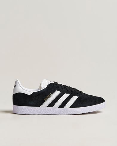 adidas Originals Gazelle Nubuck Sneaker Black i gruppen Skor / Sneakers / Låga sneakers hos Care of Carl (14526911r)