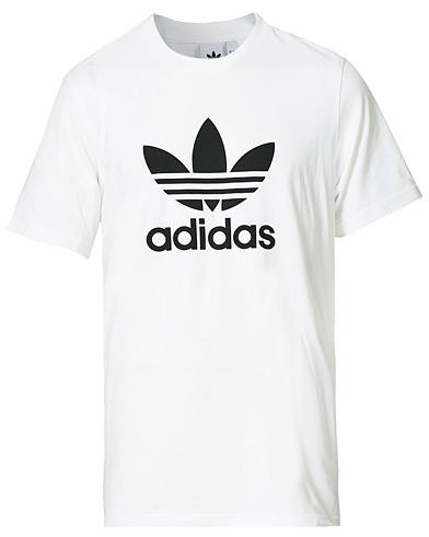 adidas Originals Trefoil Logo Crew Neck Tee White i gruppen Klær / T-Shirts / Kortermede t-shirts hos Care of Carl (14530911r)