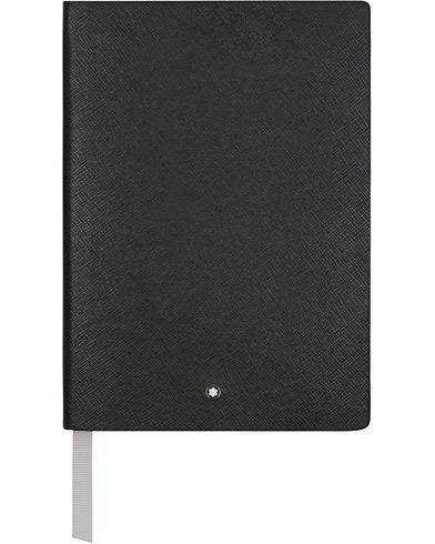 Montblanc 146 Fine Stationery Blank Notebook Black  i gruppen Assesoarer / Penner og notatbøker hos Care of Carl (14550710)