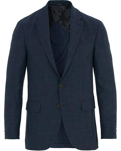 Polo Ralph Lauren Morgan Textured Soft Sportcoat Navy i gruppen Klær / Dressjakker / Enkeltspente dressjakker hos Care of Carl (14552511r)