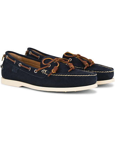 Polo Ralph Lauren Millard Suede Deckshoes Navy i gruppen Sko / Seilersko hos Care of Carl (14555311r)