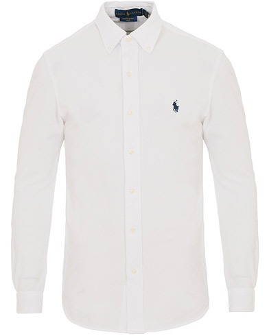 Polo Ralph Lauren Slim Fit Featherweight Shirt White i gruppen Klær / Skjorter / Casual skjorter hos Care of Carl (14571111r)