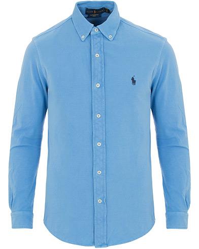 Polo Ralph Lauren Slim Fit Featherweight Shirt Nantucket Blue i gruppen Klær / Skjorter / Casual skjorter hos Care of Carl (14571211r)