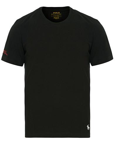Polo Ralph Lauren Liquid Jersey Crew Neck Tee Black i gruppen Kläder / T-Shirts / Kortärmade t-shirts hos Care of Carl (14582611r)