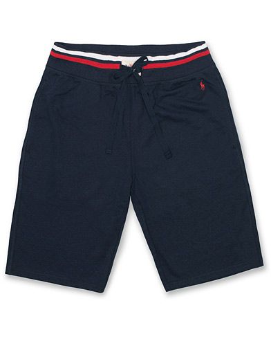 Polo Ralph Lauren Slim Loopback Shorts Navy i gruppen Klær / Shorts / Treningsshorts hos Care of Carl (14583211r)