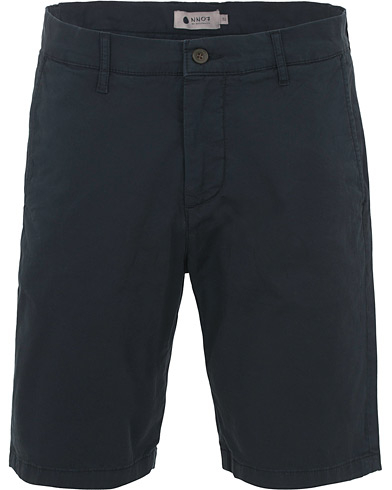 NN07 Crown Shorts Navy i gruppen Klær / Shorts / Chinosshorts hos Care of Carl (14598011r)