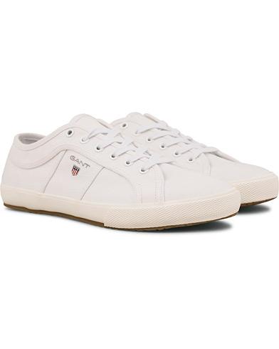GANT Samuel Sneaker White i gruppen Sko / Sneakers / Sneakers med lavt skaft hos Care of Carl (14614411r)