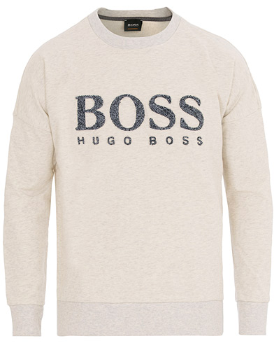 BOSS Casual Westlake Sweatshirt Off White i gruppen Kläder / Tröjor / Sweatshirts hos Care of Carl (14644011r)
