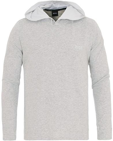 BOSS Logo Loungewear Hoodie Grey i gruppen Klær / Gensere / Hettegensere hos Care of Carl (14652411r)