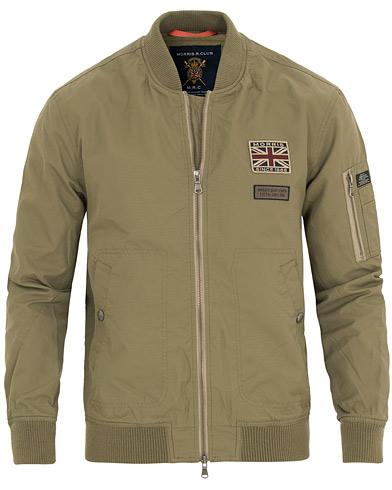 Morris Barnes Bomber Jacket Green i gruppen Kläder / Jackor / Tunna jackor hos Care of Carl (14669711r)