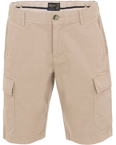 Morris Henley Cargo Shorts Khaki i gruppen Klær / Shorts / Chinosshorts hos Care of Carl (14678411r)