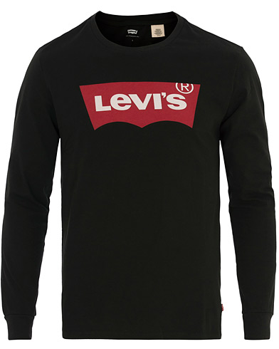 Levi's Long Sleeve Graphic Tee Better Black i gruppen Klær / T-Shirts / Langermede t-shirts hos Care of Carl (14688411r)