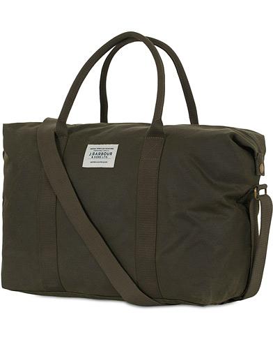 Barbour Lifestyle Archive Canvas Holdall Olive  i gruppen Accessoarer / Väskor / Weekendbags hos Care of Carl (14694210)