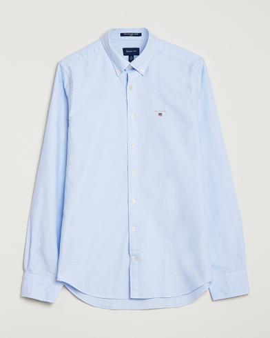 GANT Slim Fit Oxford Shirt Capri Blue i gruppen Kläder / Skjortor / Casual / Oxfordskjortor hos Care of Carl (14709111r)