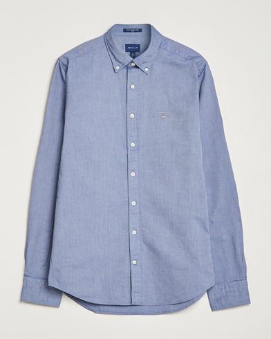 GANT Slim Fit Oxford Shirt Persian Blue i gruppen Kläder / Skjortor / Casual / Oxfordskjortor hos Care of Carl (14709211r)