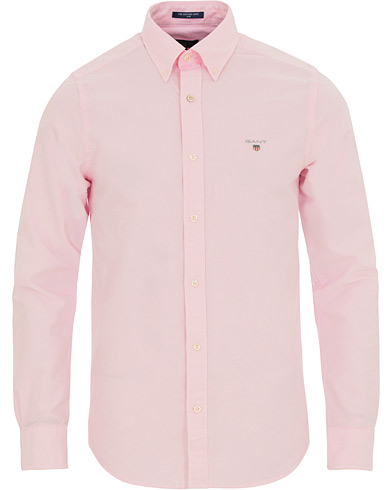 GANT Slim Fit Oxford Shirt Light Pink i gruppen Tøj / Skjorter / Casual / Oxfordskjorter hos Care of Carl (14709311r)