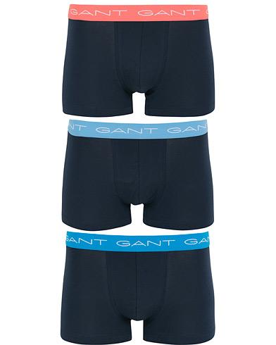 GANT 3-Pack Trunk Boxer Lava Blue i gruppen Klær / Undertøy / Underbukser hos Care of Carl (14711411r)
