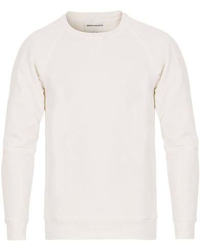 Norse Projects Vorm Summer Interlock Sweatshirt White i gruppen Kläder / Tröjor / Sweatshirts hos Care of Carl (14719911r)