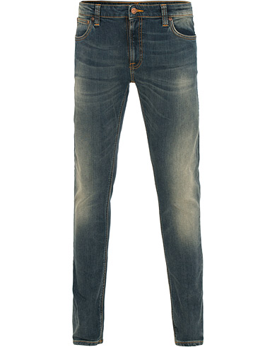 Nudie Jeans Skinny Lin Organic Slim Fit Jeans Shimmering Power i gruppen Klær / Jeans / Smale jeans hos Care of Carl (14734411r)