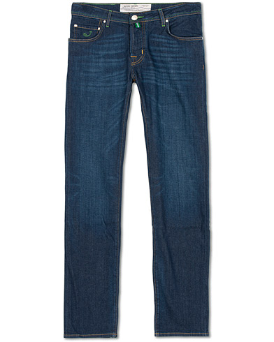 Jacob Cohën 622 Slim Jeans Dark Blue i gruppen Tøj / Jeans / Slim fit jeans hos Care of Carl (14741511r)