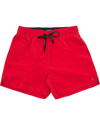 Tommy Hilfiger Drawstring Swimshort Tango Red i gruppen Klær / Badeshorts hos Care of Carl (14749611r)