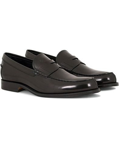 Tod's Mocassino Formale Loafer Black Shiny Calf i gruppen Skor / Loafers hos Care of Carl (14766711r)