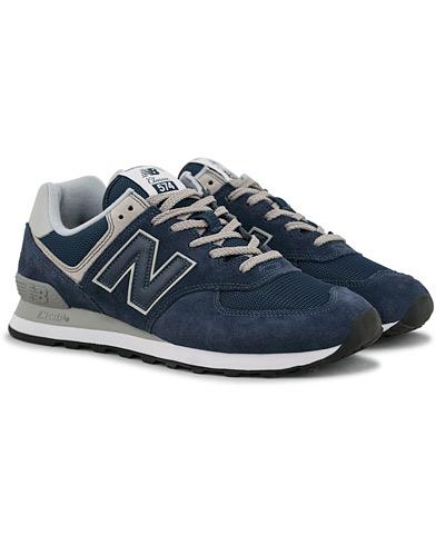 New Balance 574 Running Sneaker Navy i gruppen Sko / Sneakers / Running sneakers hos Care of Carl (14771811r)