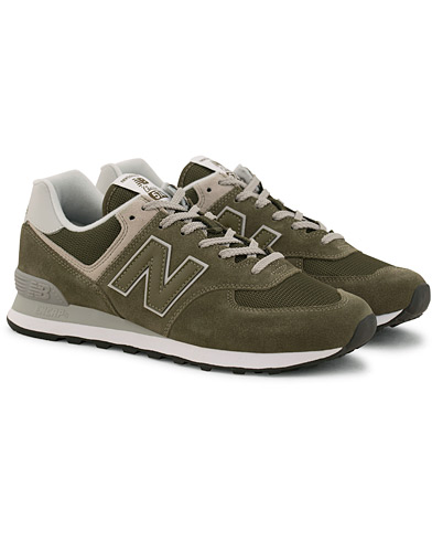 New Balance 574 Running Sneaker Olive i gruppen Sko / Sneakers / Running sneakers hos Care of Carl (14771911r)