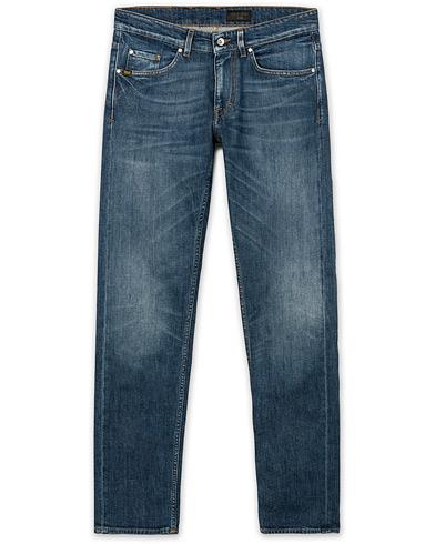 Tiger of Sweden Jeans Straight Slim Atom Jeans Medium Blue i gruppen Klær / Jeans / Smale jeans hos Care of Carl (14787911r)