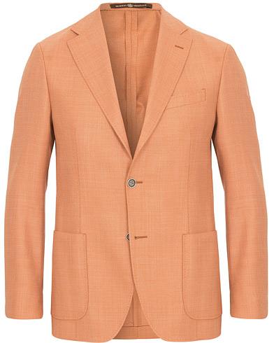 Morris Heritage Mike Mesh Blazer Orange i gruppen Klær / Dressjakker / Enkeltspente dressjakker hos Care of Carl (14799611r)