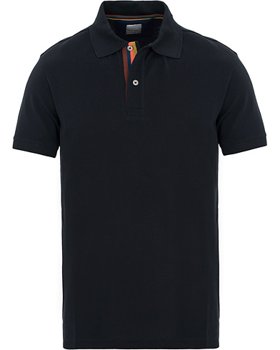 Paul Smith Placket Stripe Polo Navy i gruppen Klær / Pikéer / Kortermet piké hos Care of Carl (14808811r)