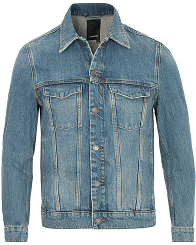 J.Lindeberg Max True Classic Jeans Jacket Light Blue i gruppen Klær / Jakker / Jeansjakker hos Care of Carl (14819211r)