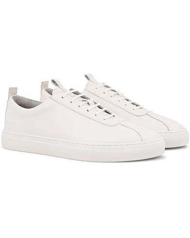 Grenson Oxford Calf Sneaker White i gruppen Sko / Sneakers / Sneakers med lavt skaft hos Care of Carl (14841311r)