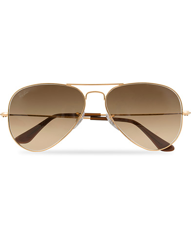 Ray-Ban 0RB3025 Sunglasses Gold  i gruppen Assesoarer / Solbriller / Pilotsolbriller hos Care of Carl (14848110)