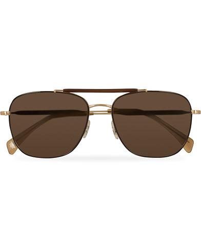 Paul Smith Roark Sunglasses Brown/Soft Gold  i gruppen Assesoarer / Solbriller / Firkantede solbriller hos Care of Carl (14848510)