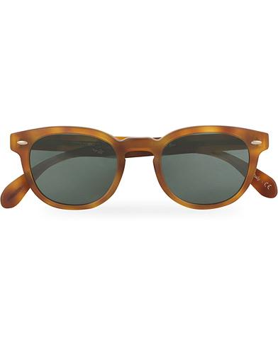Oliver Peoples Sheldrake Sunglasses Matte Light Brown/Indigo Photochromic  i gruppen Tilbehør / Solbriller / Runde solbriller hos Care of Carl (14849010)