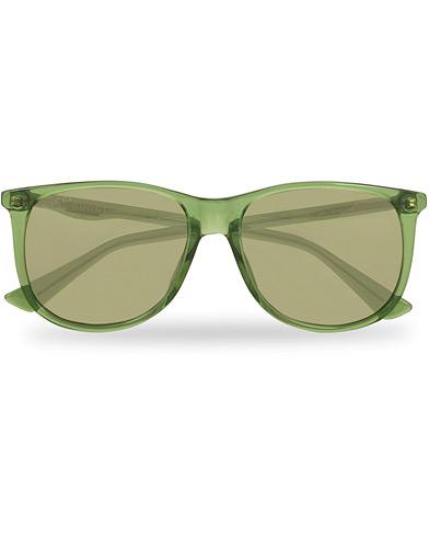 Gucci GG0263S Sunglasses Green  i gruppen Assesoarer / Solbriller / Buede solbriller hos Care of Carl (14862410)