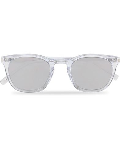 Saint Laurent SL 28 Sunglasses Crystal  i gruppen Assesoarer / Solbriller / Runde solbriller hos Care of Carl (14863110)