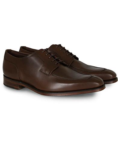 Loake 1880 Legacy Avon Derby Split Toe Dark Brown Calf i gruppen Skor / Derbys hos Care of Carl (14876811r)