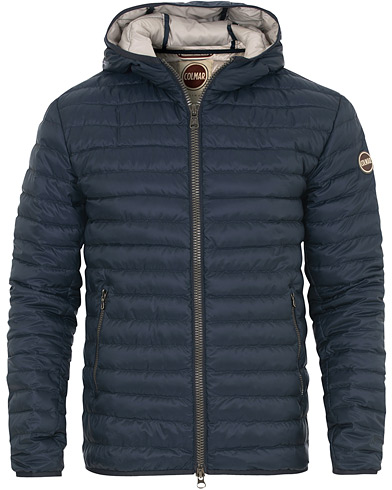 Colmar Lightweight Down Hooded Jacket Marine i gruppen Klær / Jakker / Vatterte jakker hos Care of Carl (14880611r)