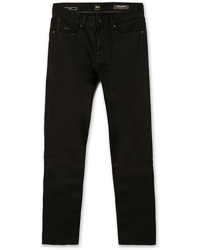 BOSS Casual Delaware Slim Fit Stretch Jeans Black i gruppen Tøj / Jeans / Indsnævrende jeans hos Care of Carl (14891711r)
