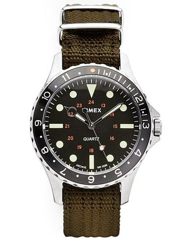 Timex Navi Harbor Steel/Black Dial  i gruppen Assesoarer / Klokker hos Care of Carl (14950610)
