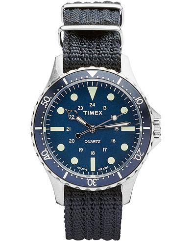 Timex Navi Harbor Steel/Blue Dial  i gruppen Tilbehør / Ure hos Care of Carl (14950810)