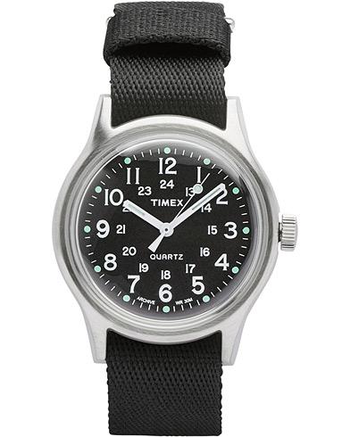Timex Camper MK1 Metal Steel/Black Dial  i gruppen Assesoarer / Klokker hos Care of Carl (14951010)