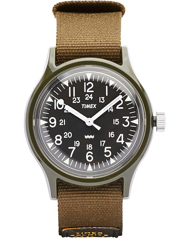 Timex Camper MK1 Green/Black Dial  i gruppen Tilbehør / Ure hos Care of Carl (14951110)