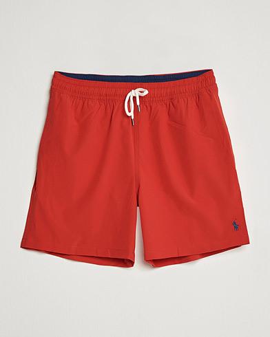Polo Ralph Lauren Traveler Boxer Swimshorts RL Red i gruppen Klær / Badeshorts hos Care of Carl (14953711r)