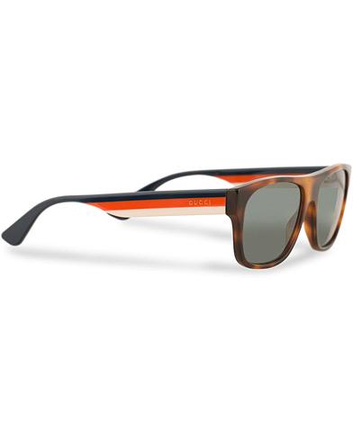 Gucci GG0341S Sunglasses Havana  i gruppen Accessoarer / Solglasögon / D-formade solglasögon hos Care of Carl (14968510)